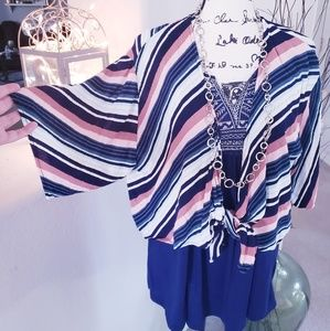 💙💗NWOT Striped Charlotte Russe Top💗💙